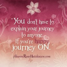 Treasured Sentiments by SharonRene Hutchinson: Your Journey, Your Choices