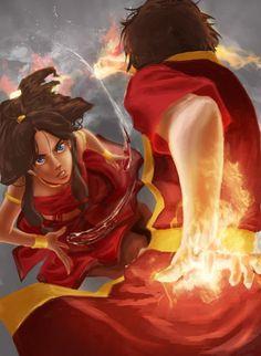 Katara & Zuko - Avatar:The Last Airbender