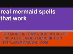 real mermaid spell that works Instintly | Kegan Jolly | Pinterest ...