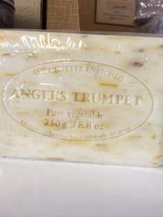 Angels trumpet Shea Butter Soap $7.50