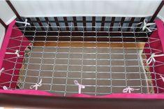 Adjustable Crib Skirt Tutorial - Two More Minutes