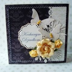 Grandparents day card made by Asica.p Papers: Hectic Eclectic #1 and Winter Elegance #2.
