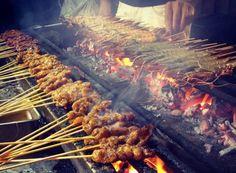 Singapore Hawker Food - Satay