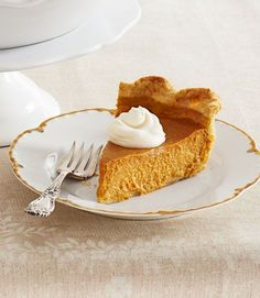 Ultimate Pumpkin Pie with Rum Whipped Cream -- T/A/O