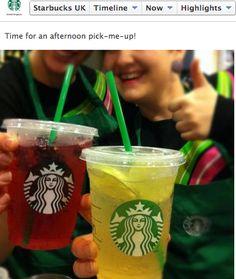 Nuevo #StarbucksRefresha de Mora Hibiscus y de Lima para cualquier hora del día y en cualquier lugar