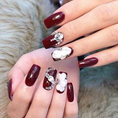 Ideas for french pedicure shape Prom Nails, 3d Nails, Long Nails, Cute Nails, Nail Nail, 3d Nail Designs, Creative Nail Designs, Creative Nails, Asian Nails