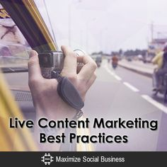 #ContentMarketing Best Practices #Socialmediaposts #Googlehangouts #Seminars #Audiovisualgear #Internetmarketing #SEO #Copyright&Periscope #Meerkut&privacylaws #Liveappchecklist