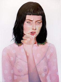 Figurative painting by Martine Johanna | iGNANT.de