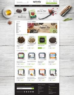 Spicely Organics in San Francisco on Behance