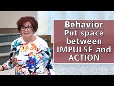 Teach Kids to Put Space Between Impulse and Action Self Regulation, Teaching Kids, Behavior, Action, T Shirts For Women, Space, Youtube, Behance, Floor Space