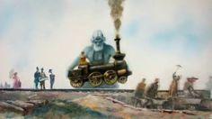 Alexandre Petrov: Russian Railways - http://www.animated-review.blogspot.co.uk/2012/12/alexandre-petrov-russian-railways.html