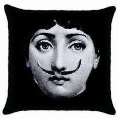 Piero Fornasetti.  #Cusions #Pillows