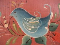 rosemaling bird - Google Search
