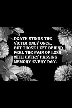 Sting - Loss and grief