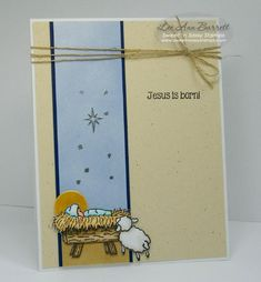 "Nativity/ FS346 by whippetgirl - Cards and Paper Crafts at Splitcoaststampers ~SnS ""Born This Day""~"