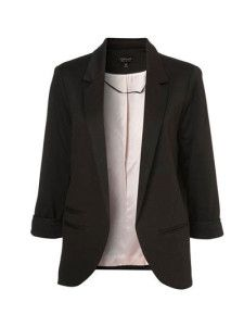 Three Quarter Sleeve Womens Blazer