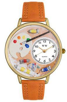 Artist Watch in Gold