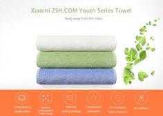 Original Xiaomi ZSH.COM Bath Towel Youth Series Absorption Long-staple cotton #Xiaomi