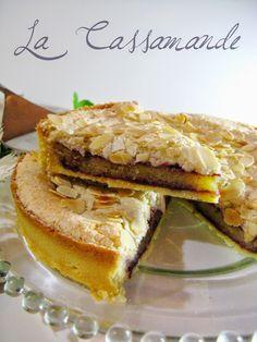 J'en reprendrai bien un bout...: La Cassamande - Tarte Cassis & Amande -