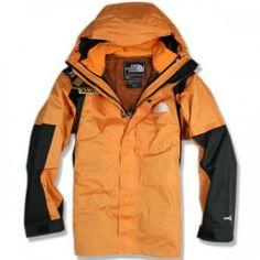 The North Face Men's new Orange Gore-Tex Xcr Jacket North Face Coat, North Face Fleece Jacket, North Face Hoodie, The North Face, North Faces, 3 In 1 Jacket, Rain Jacket, Jacket Men, Cheap North Face Backpack