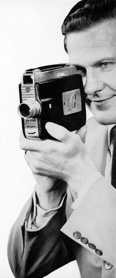Brownie movie camera, 1954. ☀