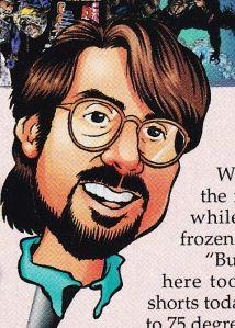 Malibu Comics Editor-In-Chief, Chris Ulm