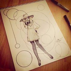 Added more to doodle #ink #art #illustration
