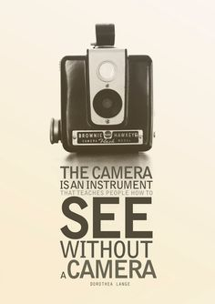 Items similar to Brownie Hawkeye Vintage Camera Dorothea Lange Photography Quote Poster on Etsy Quotes About Photography, Love Photography, Camera Photography, Photography Humor, Pinterest Photography, Lifestyle Photography, Poesia Visual, Camera Photos, Foto Fun