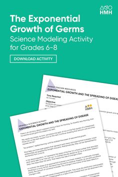 Stopping the Spread of Infectious Disease: A Lab Activity Approach Science Resources, Science Activities, Learning Resources, Teacher Resources, The Learning Company, Middle School Science, High School Students, Problem Solving, Lesson Plans