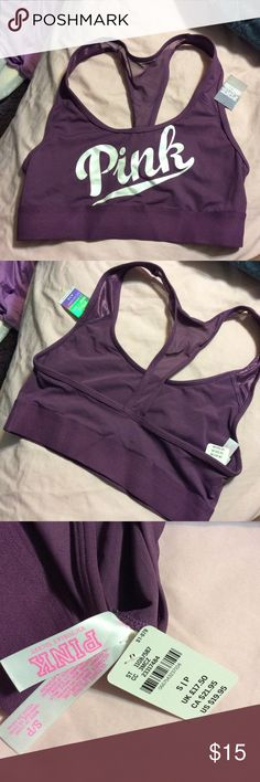 Pink Ultimate Sports Bra NWT Pink ultimate sports bra. Size small PINK Victoria's Secret Intimates & Sleepwear Bras