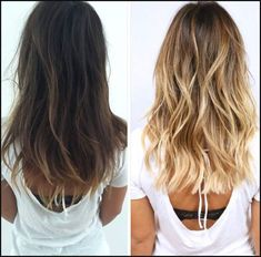 hair color inspiration, brunette to blonde. Blonde Wavy Hair, Icy Blonde, Bright Blonde, Going Blonde From Brunette, From Brunette To Blonde, Blonde For Brunettes, Blonde Balyage, Brown To Blonde Balayage, Balayage Straight
