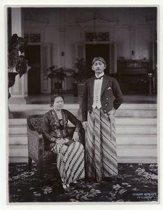 De regent en raden ajoe van Cianjur, Java, Indonesië (1919-1930)