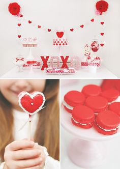 """""""Kisses & Cupcakes"""" Kids Valentine's Day Party"""