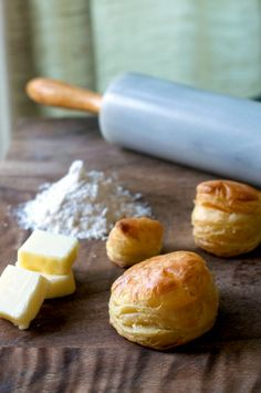 puff pastry making