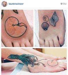 Seashells done by Lauren Winzer