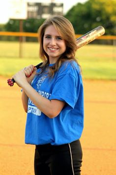 Softball senior pictures  Aliewphotography