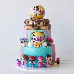 The cutest LOL Surprise Cake by @deliciousbysara Inspired? Style the ultimate LOL party via our online store - link in bio  .⠀ .⠀ .⠀ .⠀ #loljumbo #surprise #lolsurprise #loldoll #toys #toystagram #collection #doll #partydecor #celebrate #party #events #partysupplies #styling #instashop #firstbirthday #flashesofdelight #afterpay #partyideas #love #style #parties #littlebooteekau #balloons #cute #thatsdarling...