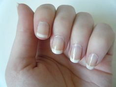 FRENCH nails    to give my nails a fresh look. I have recently been giving my nails ...