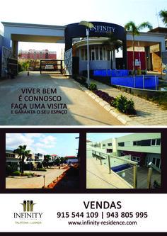 É com muita honra que a Empresa Poltec apresenta a todos o condomínio INFINITY RESIDENCE 1, um novo conceito de vida que vem para contribuir no bem estar do povo angolano.