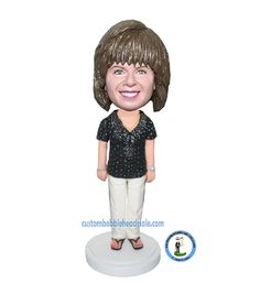 Customized bobble doll Female With Hands At Sides-Mother's Day G