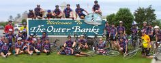 The Outer Banks Scenic Byway is equipped with biking lanes that attract biking enthusiasts and leisure riders alike.