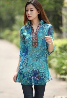 Vestido nova moda verão 2016 mulheres vestido de chiffon. Com decote em V floral impressão grandes mulheres tamanho do vestido. Frete grátis em Vestidos de Das mulheres Roupas & Acessórios no AliExpress.com   Alibaba Group