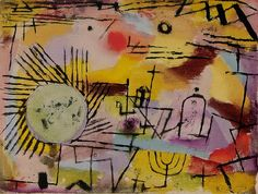 jeromeof:Rising Sun - Paul Klee