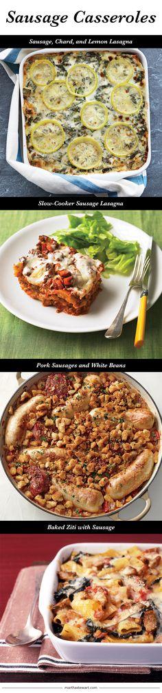 Sausage Casseroles | Martha Stewart Living