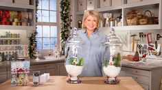 Watch Martha Stewart's Ask Martha: Cheerful Holiday Jars Video. Get more step-by-step instructions and how to's from Martha Stewart.