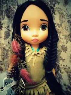 Pocahontas Animator's Doll