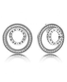 c8b14f896 Pandora Forever Signature Earrings New Pandora, Cheap Pandora, Pandora  Earrings, Women's Earrings,