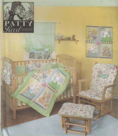 Simplicity 4576 Nursery Accessories Sewing Pattern - Baby Room Accessories Sewing Pattern - Home Decor Pattern - Uncut Sewing Pattern by SimplyCraftSupplies on Etsy