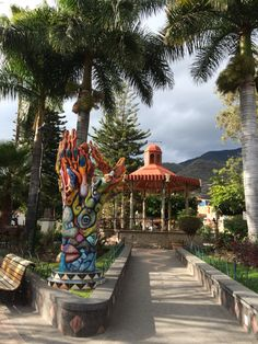 Ajijic dowtown. México.