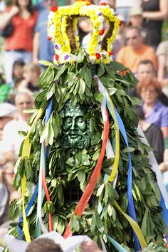 """Hastings Traditional Jack-in-the-Green Festival. The Hastings Jack-in-the-Green festival was revived by Keith Leech in 1983 and is now one of the biggest annual gatherings of Morris Dancers in the country.  The Jack is """"released"""" every year and is central to the festival"""